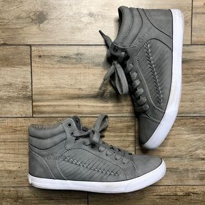 Guess Army Green High Top Sneakers